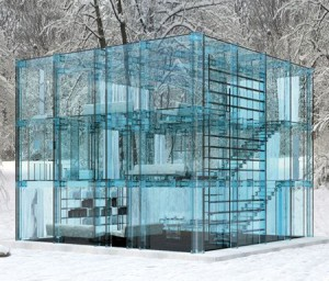 Different and unique use of Glass and Mirrors